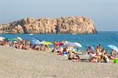 Пляж `Ла Гвардия`