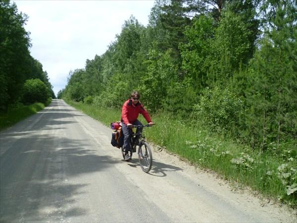 Дорога до с. Чингис