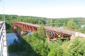 Старый мост через Вуоксу в Перевозное