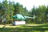Памятник Ми-4 в Глебычево