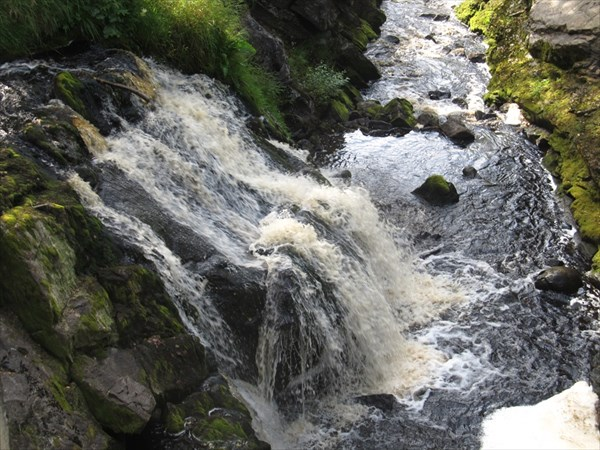 Водопад на Ниванйоки в Метсямикли
