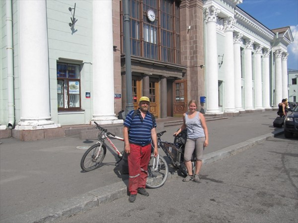 У ж.д. вокзала в Выборге