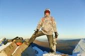 На вершине горы Круглица