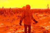 Закат на склоне горы Круглица