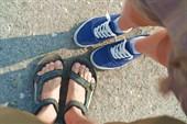 Как всегда: фото ног