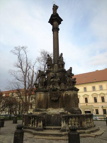 Марианская колонна 1726 Градчанская площадь