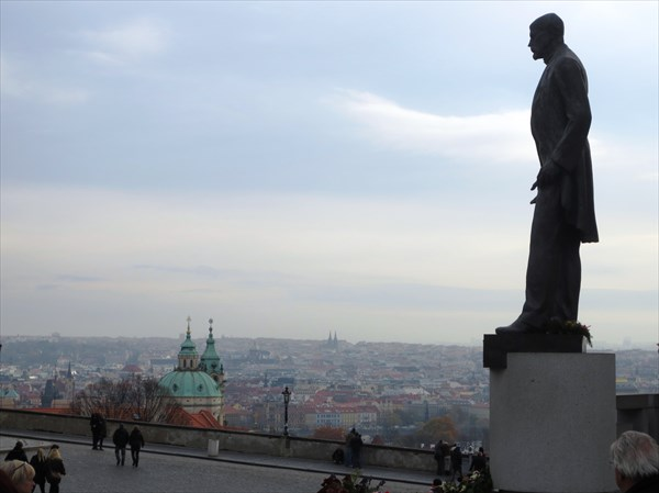 Памятник Томашу Масарику, первому президенту Чехословакии