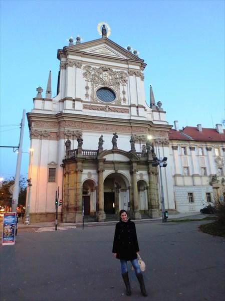 Церковь Святого Игнатия Лойолы 1665—1670, Прага