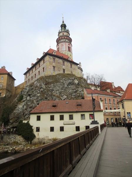 Замковая башня Крумловский замок 1240