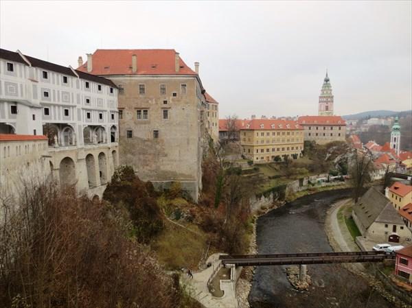 Крумловский замок 1240