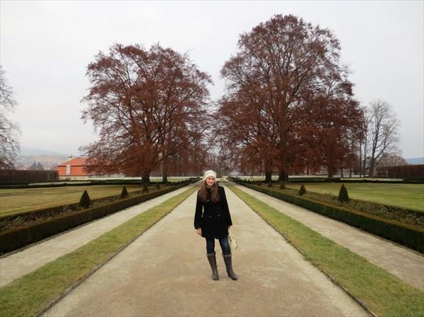 Парк Крумловский замок 1240