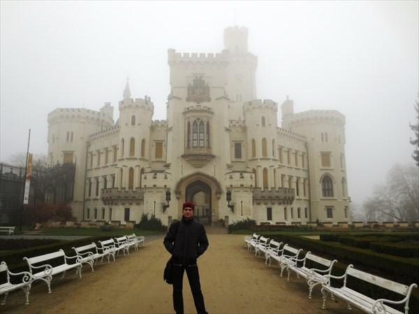 Замок Глубока 19 в