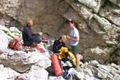 сборы в пещеру