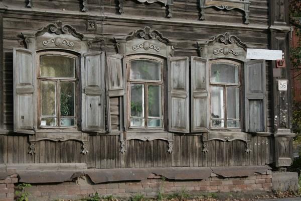 Томск, дереаянное кружево