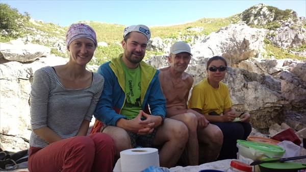 В лагере у озера со Стародубовым