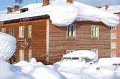 Снежные шапки Североенисейска