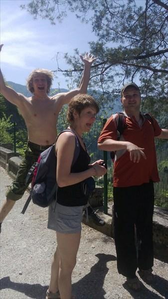 Смотровая площадка по пути на озеро Большая Рица