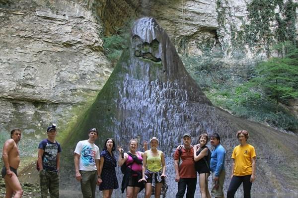 Шакуранский комплекс, водопад