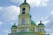 Церковь Покрова в п.Тургиново