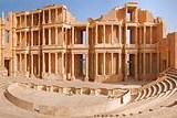 Руины древнего города Сабрата