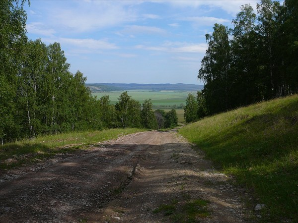 Дорога Сикияз - Лаклы