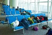 Спим в аэропорту Гонконга