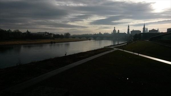 Утренний Дрезден
