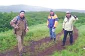 Восхождение на вулкан Эбеко