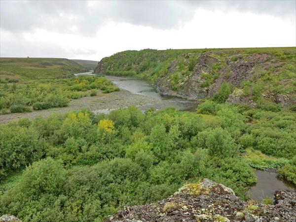 23. Начало каньона.