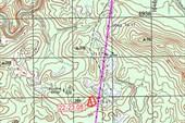 Карта от Кузьмовки до Иммокила