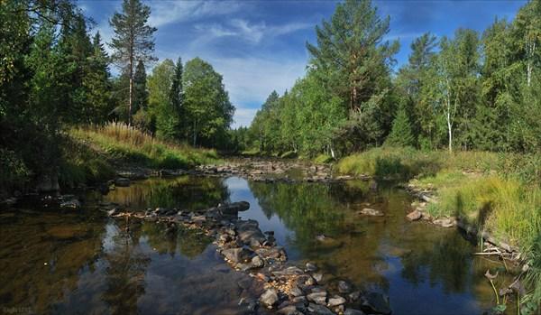 Урал, река Березяк