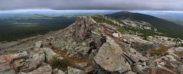 Вершина Первой сопки, хребет Уреньга