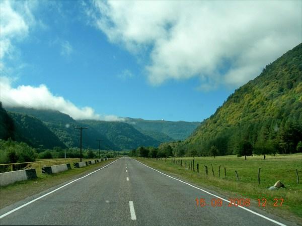 дорога на Архыз