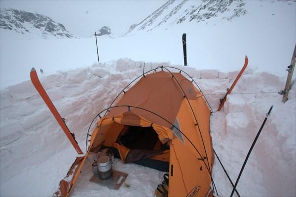 Лагерь в Малой Белой