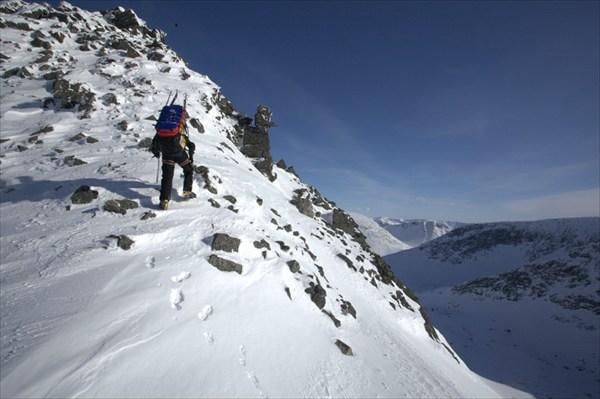 Подъем на плато Часначорр