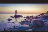 На берегу Онежского