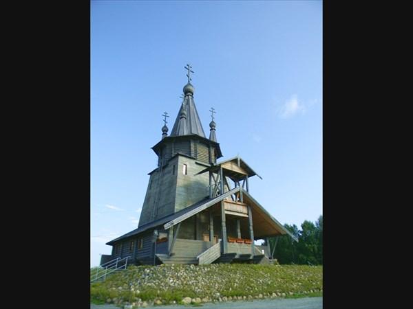 Повенец. Храм святителя Николая