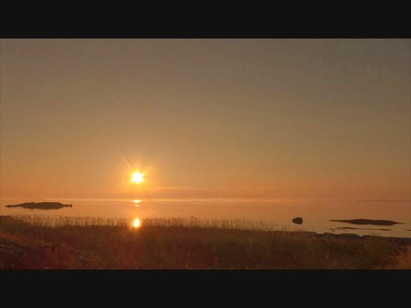 Восход на Белом море.