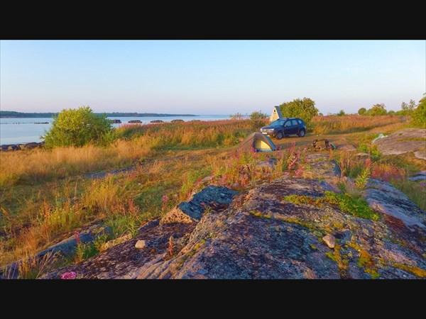 На берегу Белого моря.