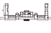 План дворца