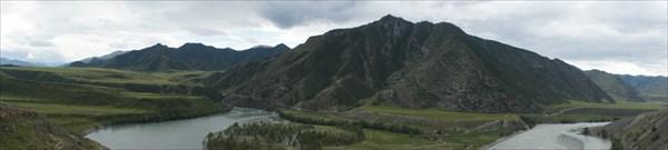 Панорама Катуни.