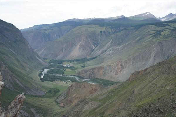 Вид на долину Чулышмана.