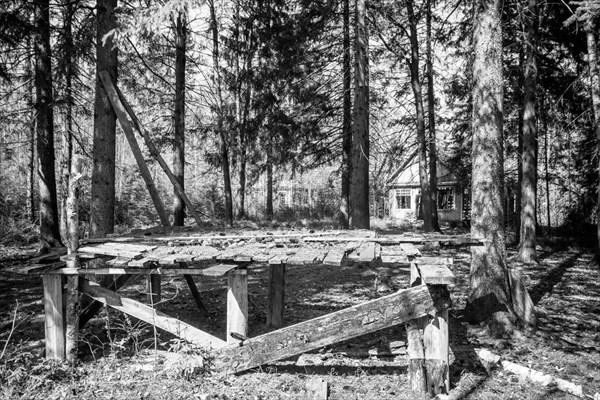 Заброшенный пионер-лагерь Звёздочка