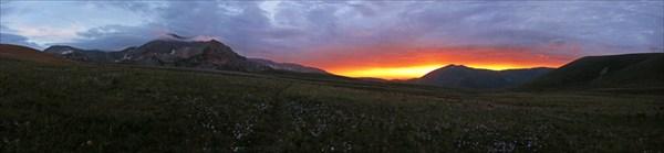 Закатная панорама