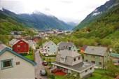 Одда чудный городок находящийся в самом конце Sorfjorden