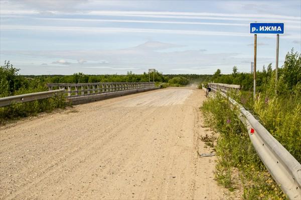 Мост через р. Ижма