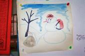 снеговик-спелеолог...