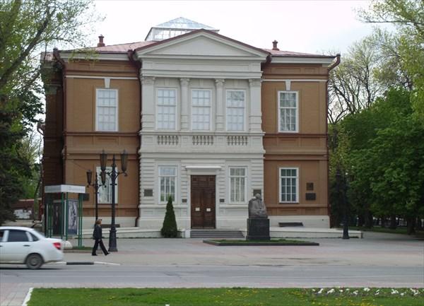 Художественный музей им. Радищева.