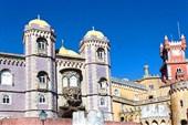 Pena Castle in blue sky