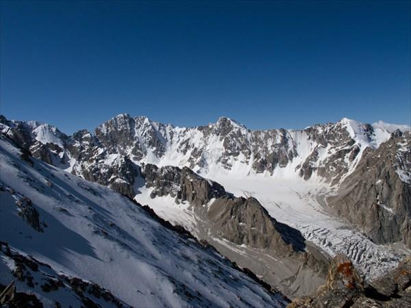 А ледник не так уж был высоко